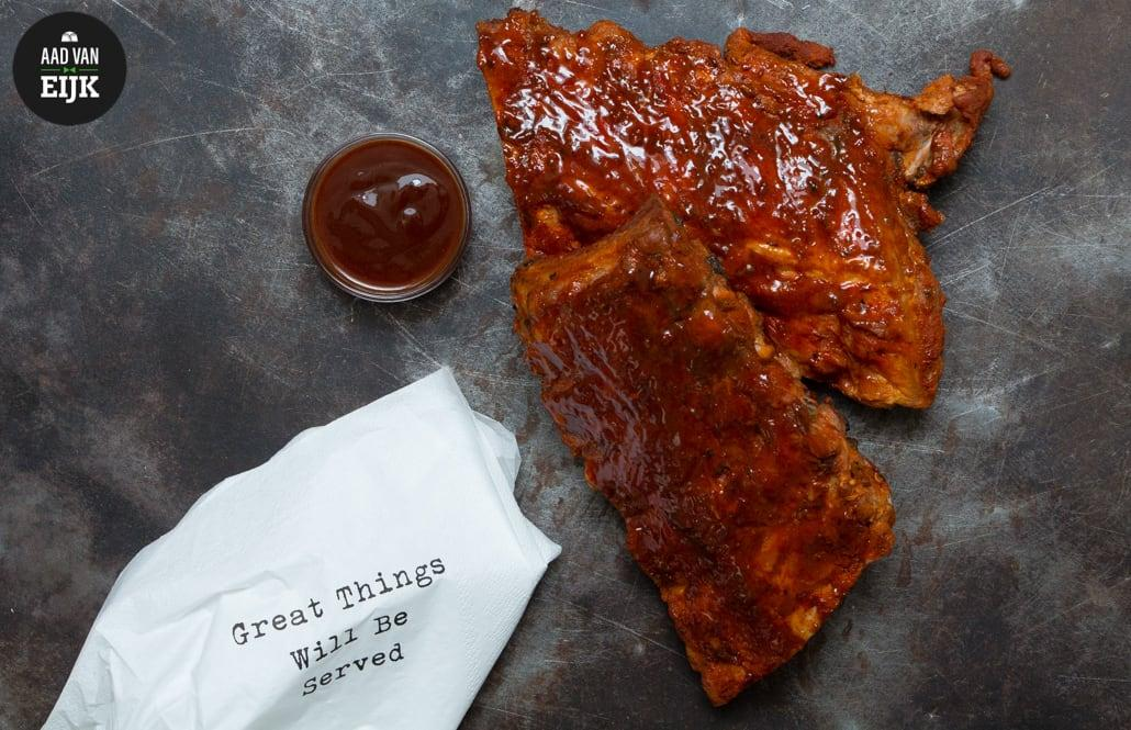 Spareribs recept