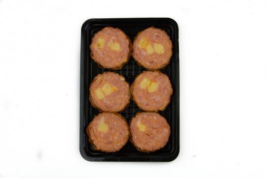 Grillworst met kaas